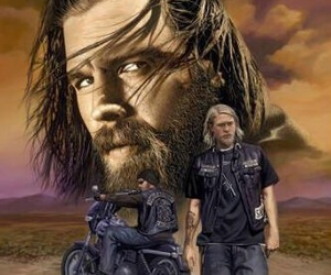 sons of anarchy and ryan hurst image