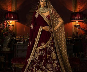 dress, india, and indian image