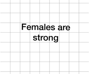 females and strong image