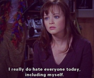 hate, gilmore girls, and alexis bledel image