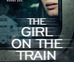 book, thriller, and girl on the train image