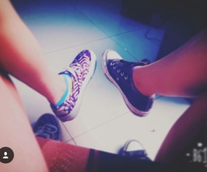 converse, friends, and love image