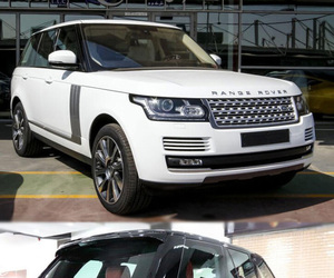 SUV, land rover, and audi q7 image