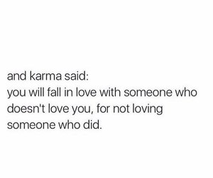 quotes and karma image