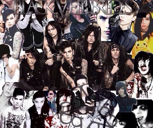 Collage, emo, and andy sixx image