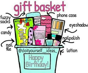 diy, gift, and gift basket image