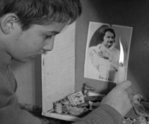jean pierre leaud, balzac, and les 400 coups image