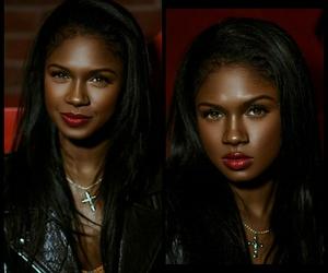beauty, black girl, and baddies image