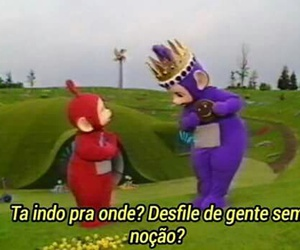 br, meme, and teletubbies image