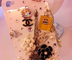 chanel, iphone, and paris image