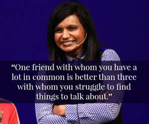 quote, preach, and mindy kaling image