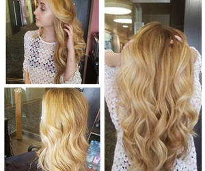 beautiful, blonde, and long image