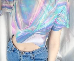 holographic, grunge, and tumblr image