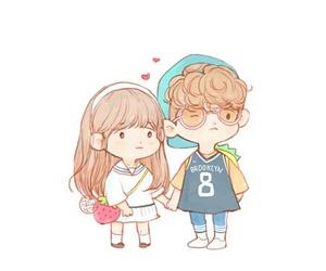 baekhyun, chibi, and exo image