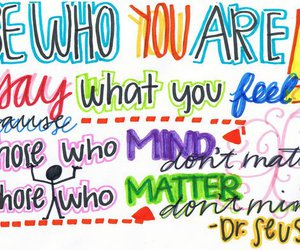 quote, Dr. Seuss, and you image