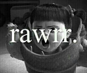boo, rawr, and disney image