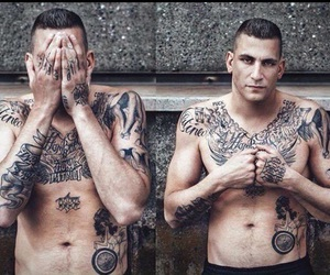 rap, tattoo, and 187 image