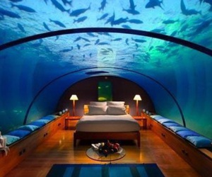 blue, water, and dream room image