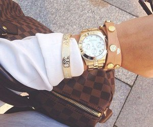 watch, fashion, and bag image
