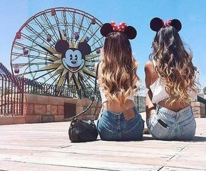 black purse, disney, and minnie mouse ears image