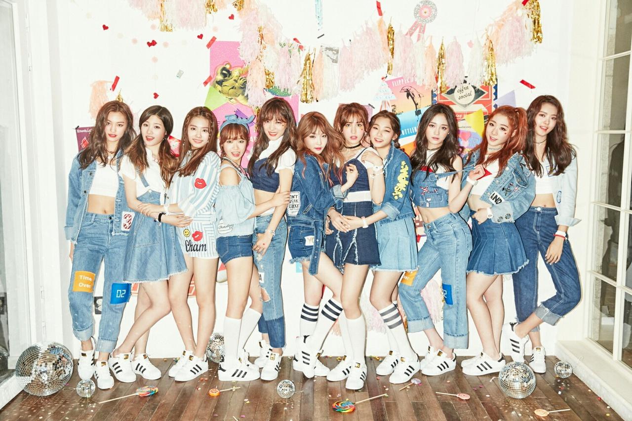 comeback, dream girls, and ioi image