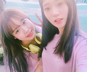 ioi, chaeyeon, and yoojung image