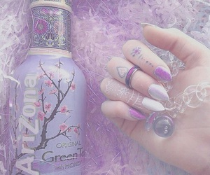 purple, arizona, and nails image