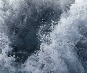 blue, waves, and sea image