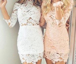 fashion, dress, and girl image