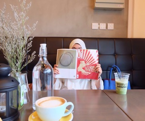 cafe, morning, and tea image