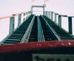 photography, Roller Coaster, and vintage image