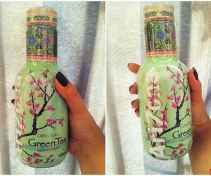 green, tea, and 🍸 image