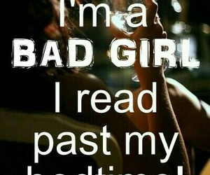 bad girl, books, and reading image