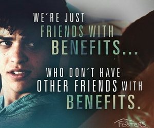 jesus, friends with benefits, and the fosters image
