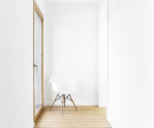decor, minimal, and white room image
