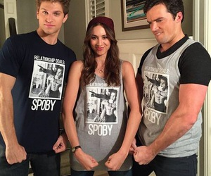 spoby, pll, and pretty little liars image
