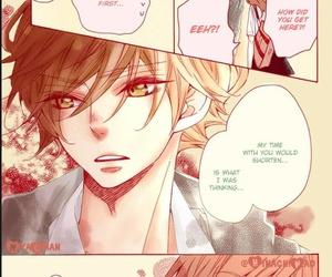 color, shojo, and manga image