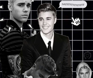 wallpaper and justin bieber image