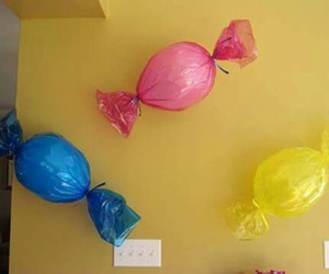 balloons, diy, and candy image