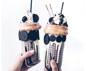 food, oreo, and drink image