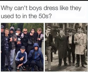boy, 50s, and true image