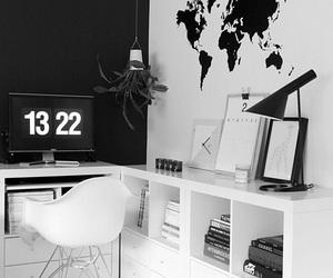 home, black, and decor image