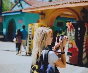camera and girl image