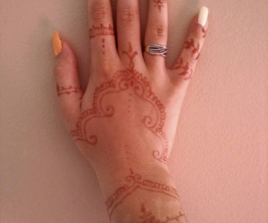 art, color, and henna image