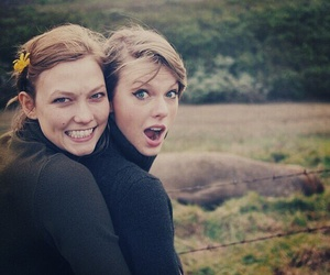 Taylor Swift and Karlie Kloss image
