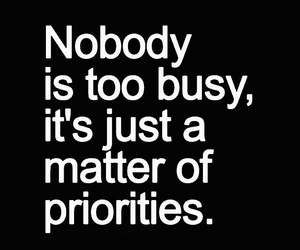 quotes, priority, and busy image