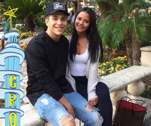 austin mahone and katya elise henry image