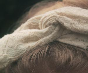 blonde, hair, and hair band image