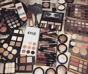makeup, kylie, and beauty image