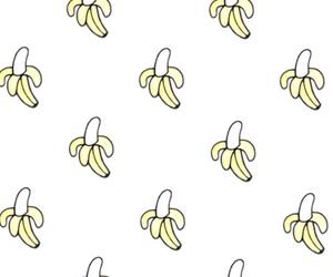 art, background, and banana image